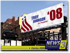 Troy Johnson for President