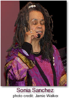 Sonia Sanchez plays