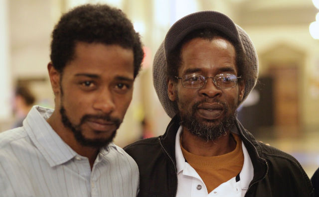 LaKeith Stanfield   and Colin Warner