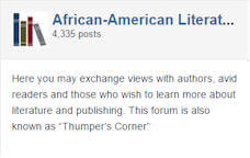 AALBC Africam American Literature discussion forum