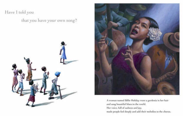 sample page from of thee I sing