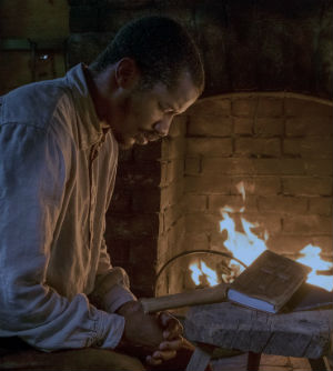 The Birth of a Nation, Nate Park as Nat Turner Praying