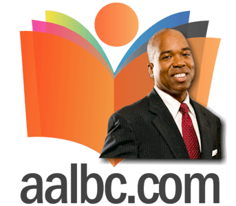 Troy Johnson with AALBC.com Logo