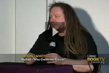 Jaron Lanier talked about his book, Who Owns the Future