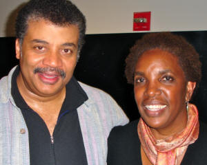 Dr. Neil deGrass Tyson & Sandra Kitt