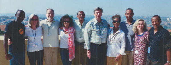 Wynn Thomas Group Shot (including Alfrie Woodard and Willie Burton)