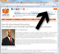 aalbc search screen shot