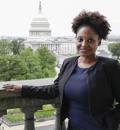 Poet Laureate Tracy K. Smith. Photo by Shawn Miller
