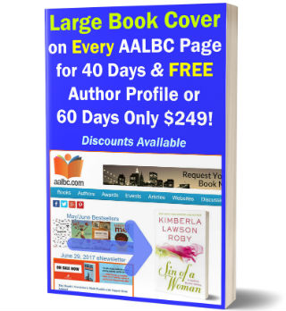 Get on Your Large Book Cover on Every AALBC.com Page