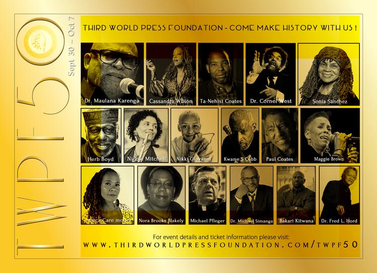 THIRD WORLD PRESS FOUNDATION 50TH ANNIVERSARY