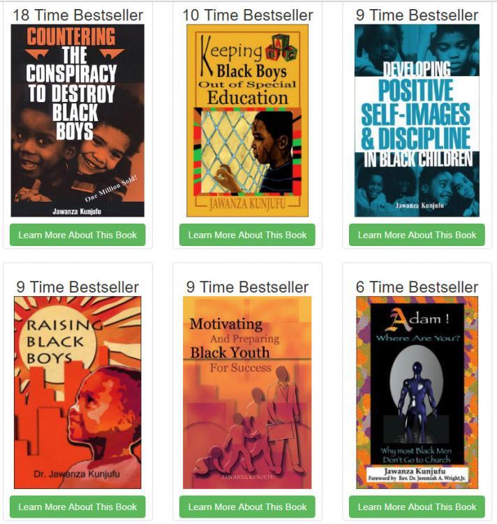 Kunjufu's Bestselling Books
