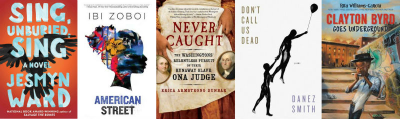 Black Finalists for the 2017 National Book Awards