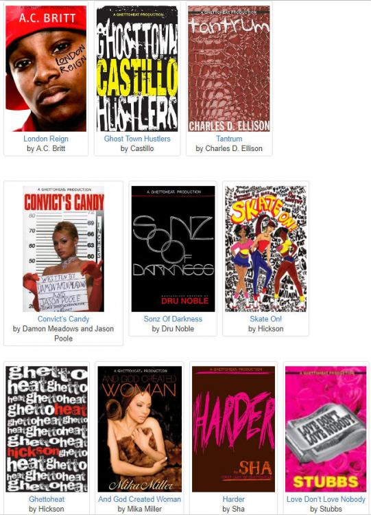 Ghettoheat Books