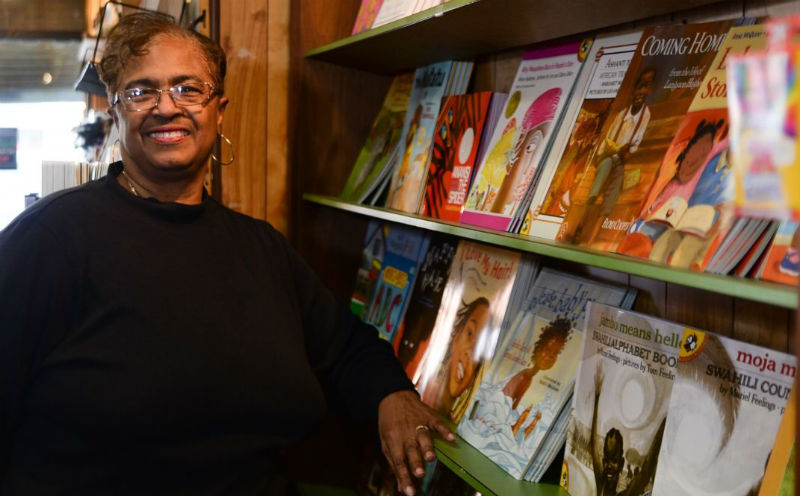 Yvonne Blake took over Hakim's Bookstore  (credit) GENEVA HEFFERNAN / STAFF PHOTOGRAPHER