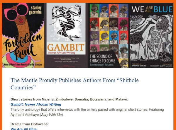 Literature from Shithole Countries