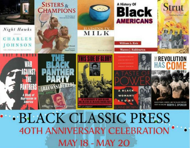 The Ultimate Top 10 Books Lists, Great New Books, Black Classic Press Celebrates 40 Years, and More!