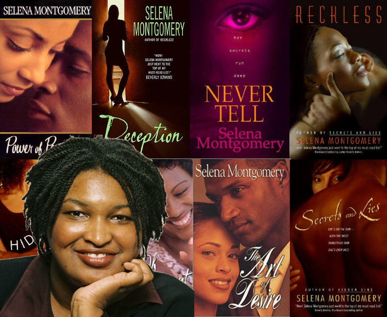 Selena Montgomery is the pen name of romance novelist Stacey Yvonne Abrams