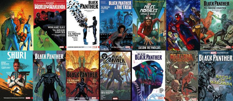Black Panther Books by Marvel
