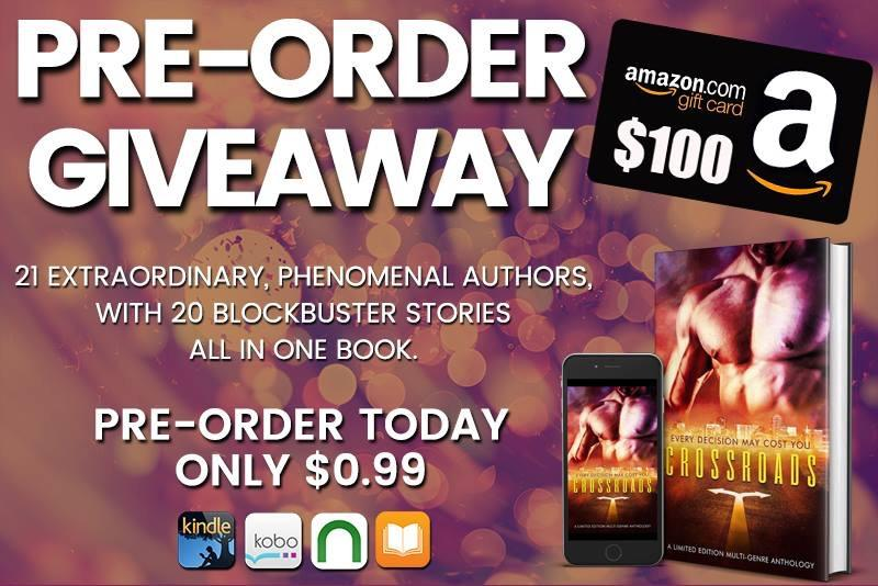 Pre-Order The Crossroads Anthology - and enter to win a $100 Amazon Gift Card