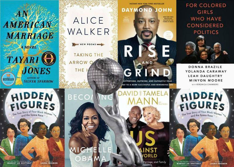 Congratulations to all the 2019 NAACP Image Awards Winners and Nominees for Outstanding Literary Work