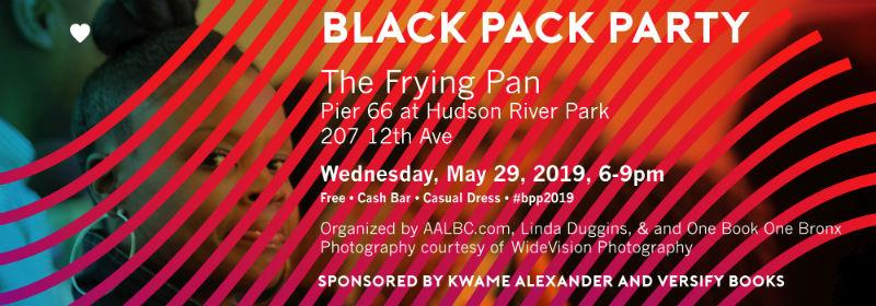 The Black Pack Party is an annual gathering of publishing industry professionals and authors.