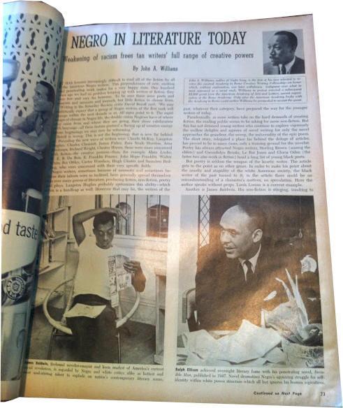 African American Literature Ebony Managine