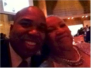 Troy Johnson and Toni Morrison