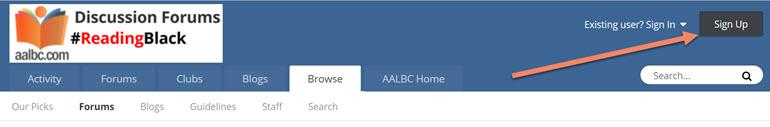 Register for AALBC Discussion Forums