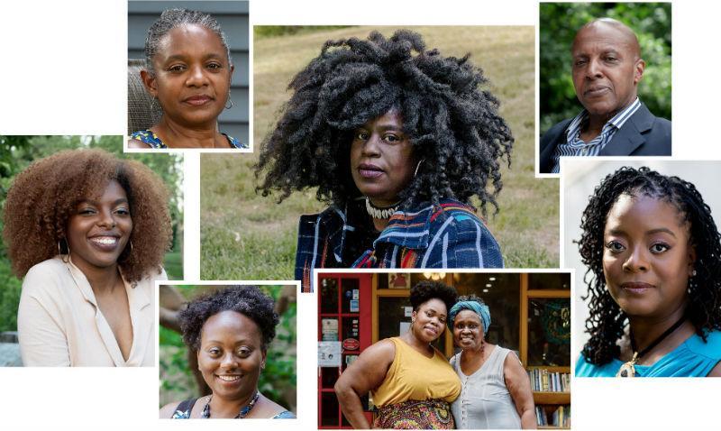 Linda Duggins, Tracy Sherrod, Erroll McDonald, Cherise Fisher, Janifer Wilson, Kori Wilson, Kerri K. Greenidge and Ebony LaDelle.