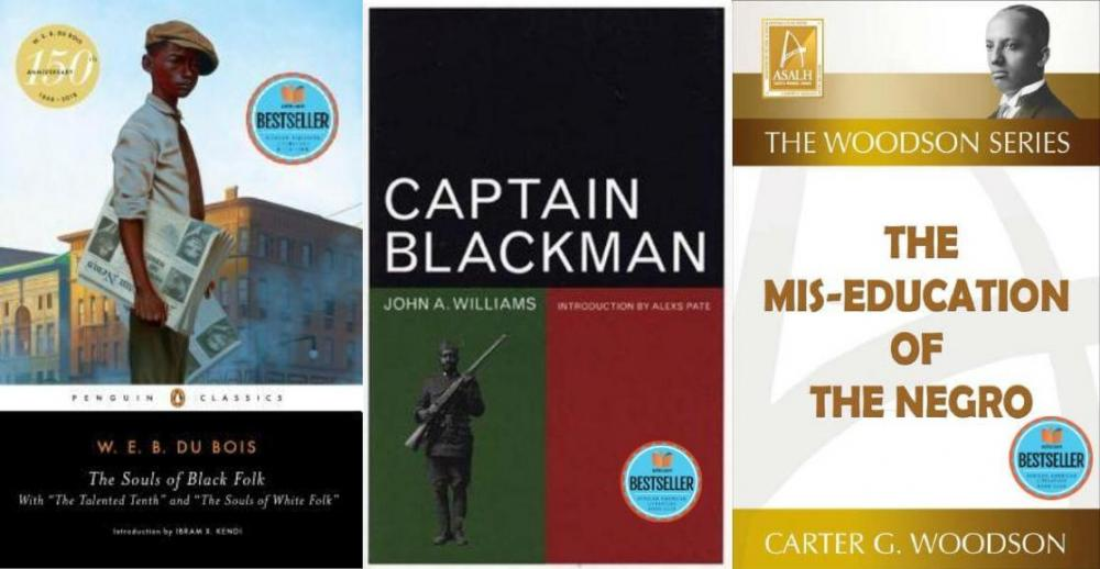 https://store.aalbc.com/captain-blackman-the-mis-education-of-the-negro-and-the-souls-of-black-folk/