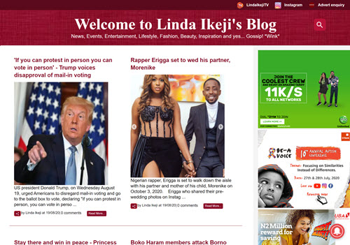 Linda Ikeji's Blog