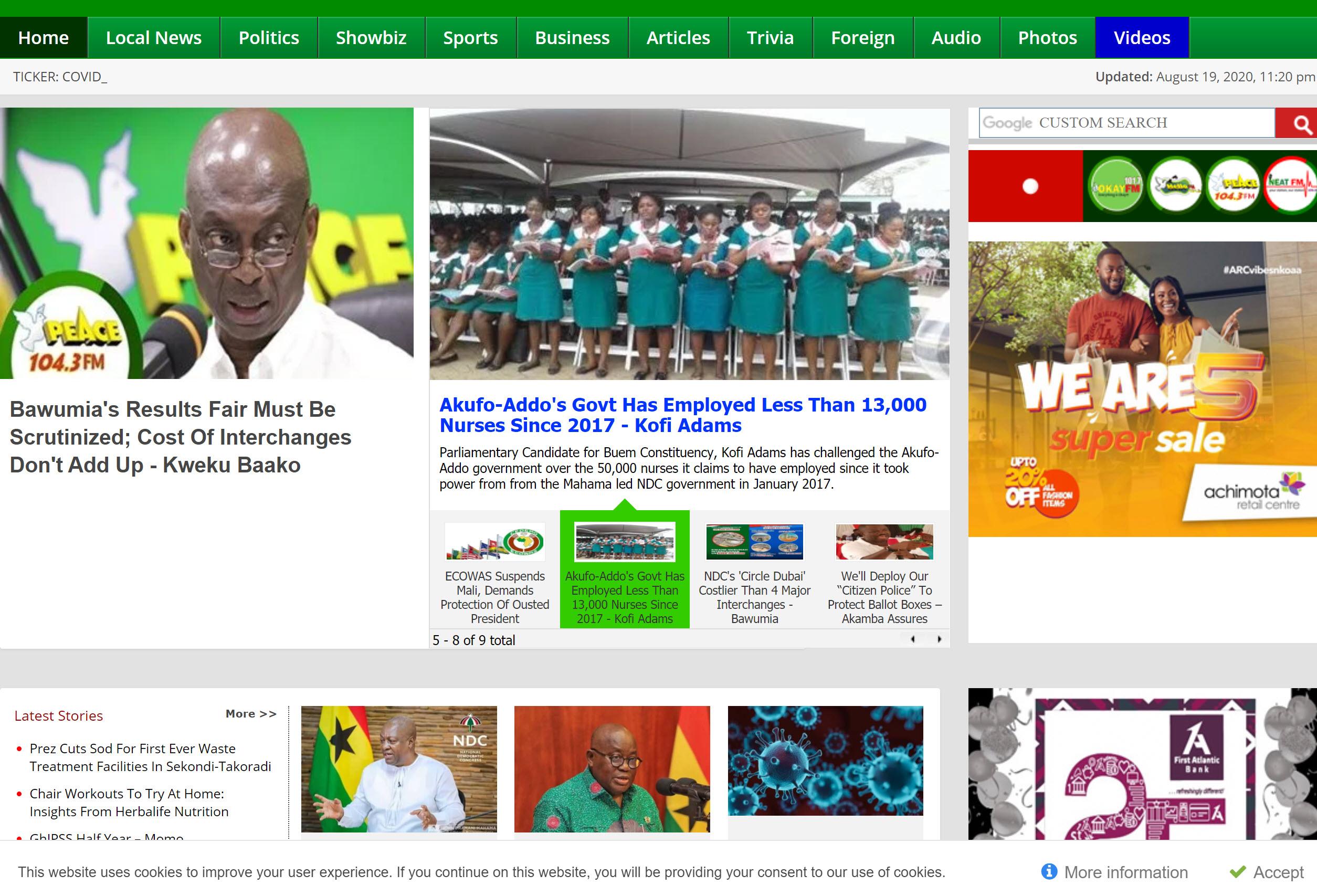 Peace FM Online