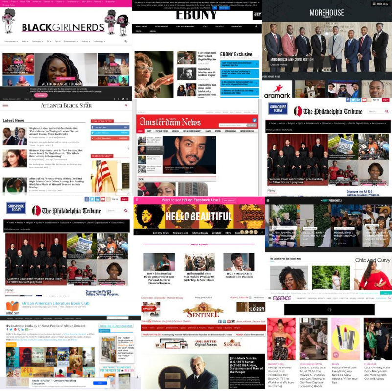 The 10 Best Damn Black Websites Period!