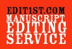 Edit 1st Manuscript Editing Servce